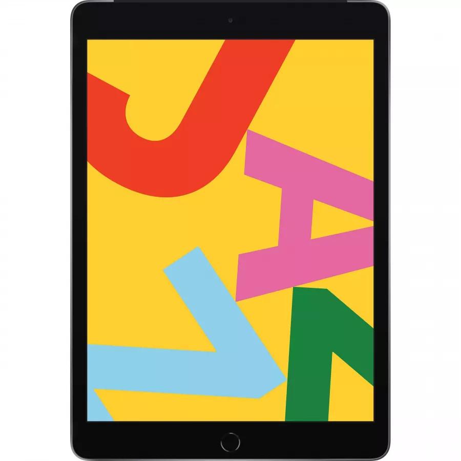 Apple iPad 10.2 (2019) 128ГБ Wi-Fi + Cellular - Серый Космос (Space Gray). Вид 1