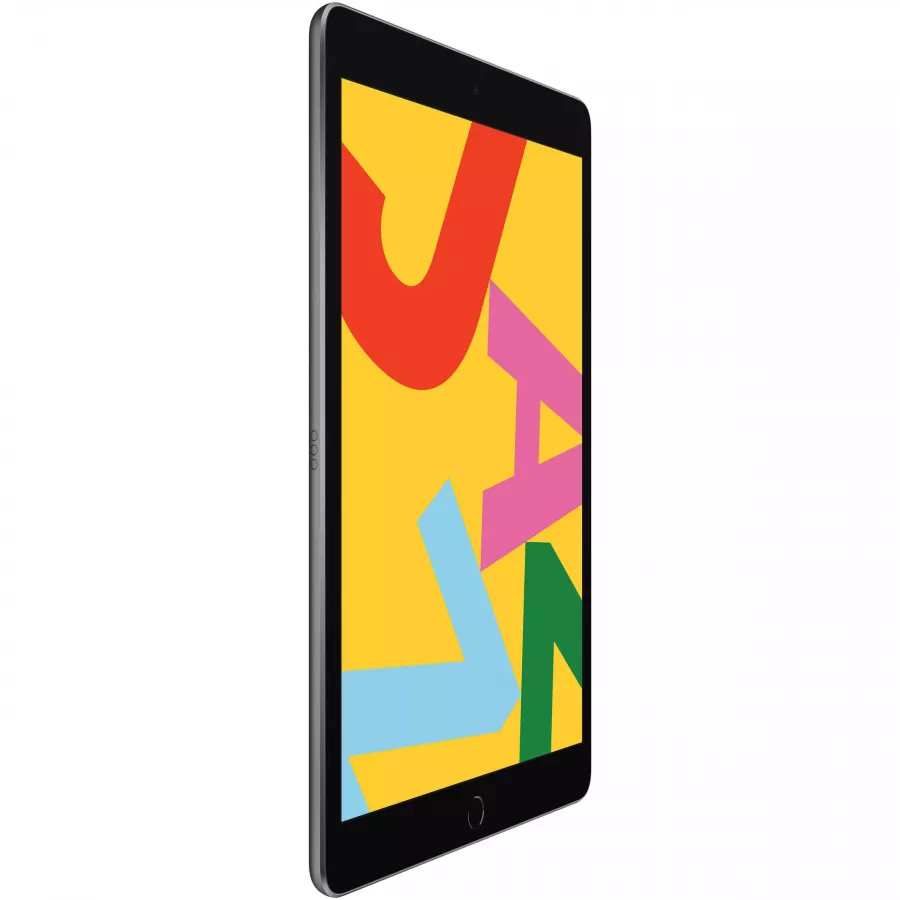 Apple iPad 10.2 (2019) 128ГБ Wi-Fi + Cellular - Серый Космос (Space Gray). Вид 3