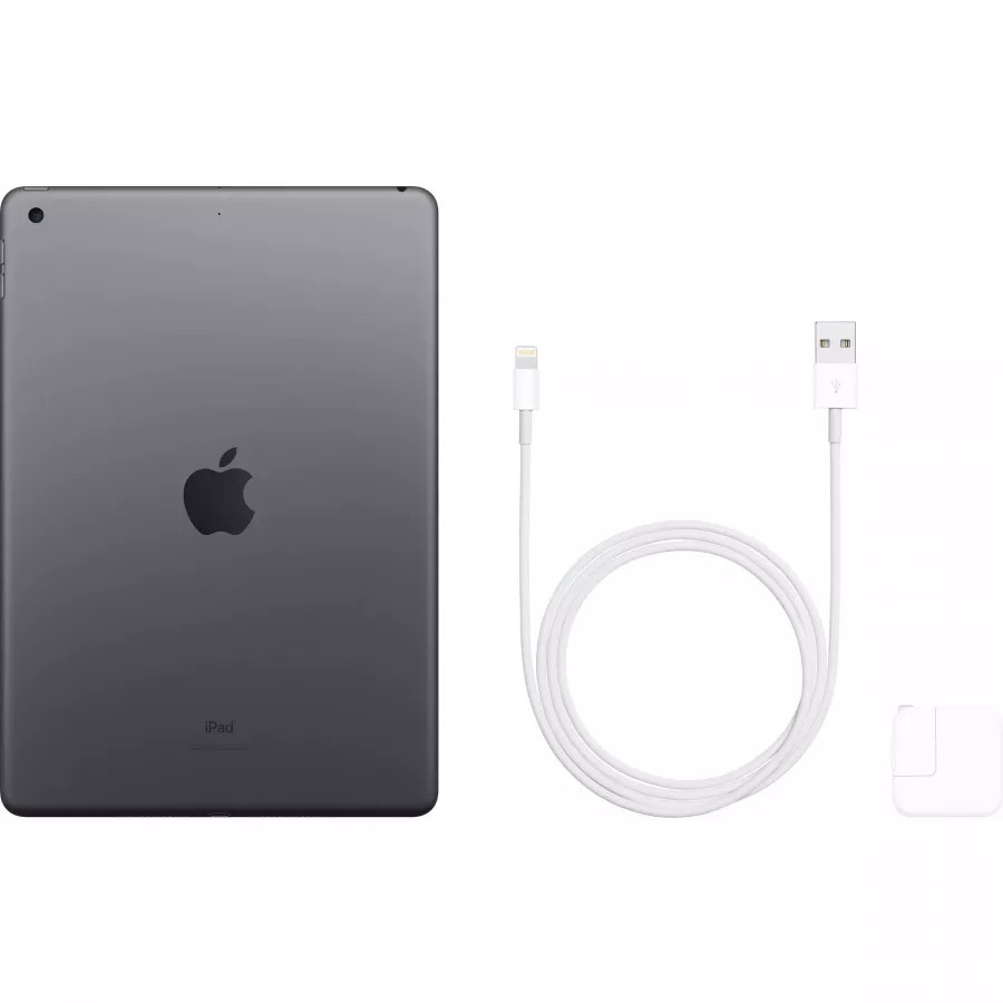 Apple iPad 10.2 (2019) 32ГБ Wi-Fi - Серый Космос (Space Gray). Вид 4