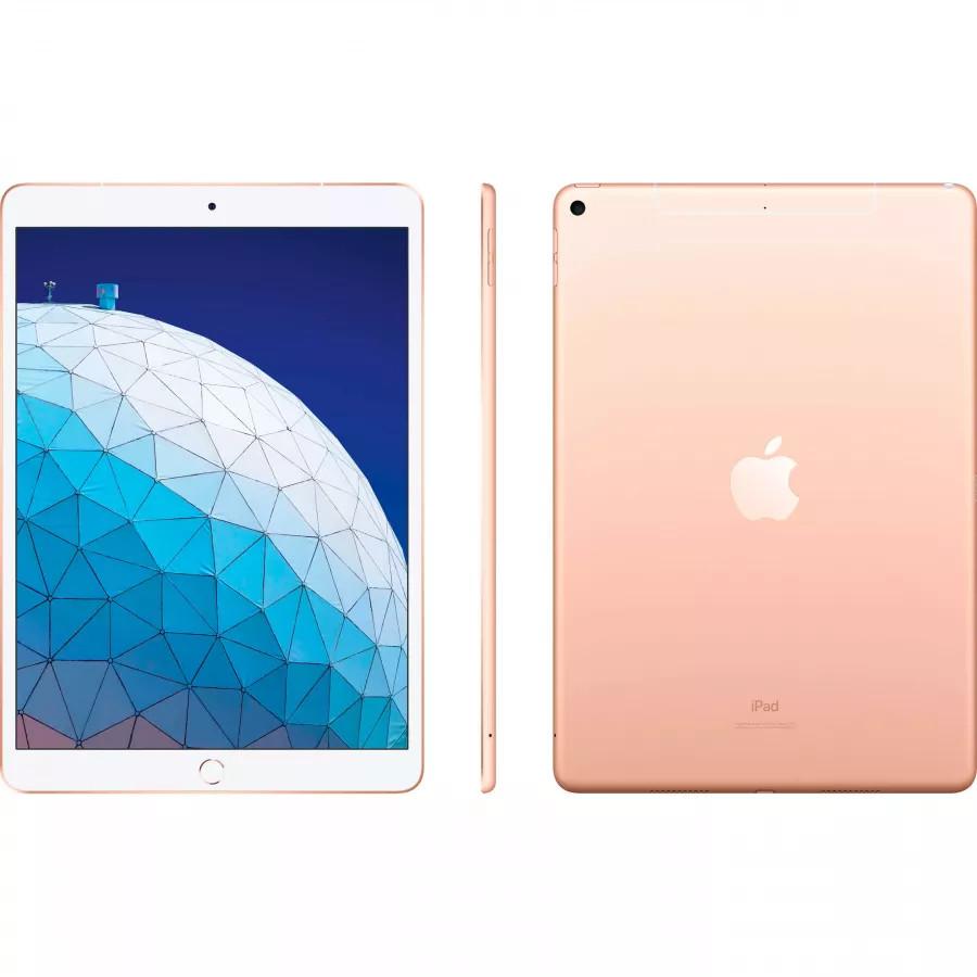 Apple iPad Air 10.5 (2019) 64ГБ Wi-Fi + Cellular - Золотой (Gold). Вид 2
