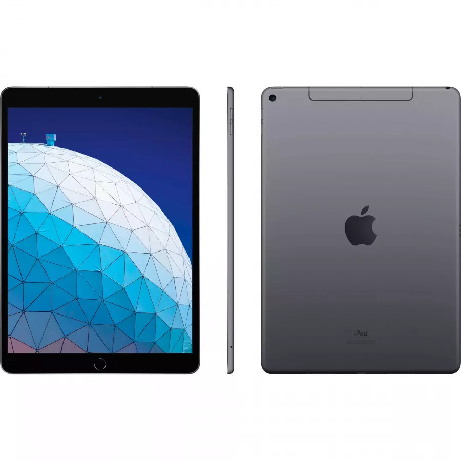 Apple iPad Air 10.5 (2019) 64ГБ Wi-Fi + Cellular - Серый Космос (Space Gray). Вид 2