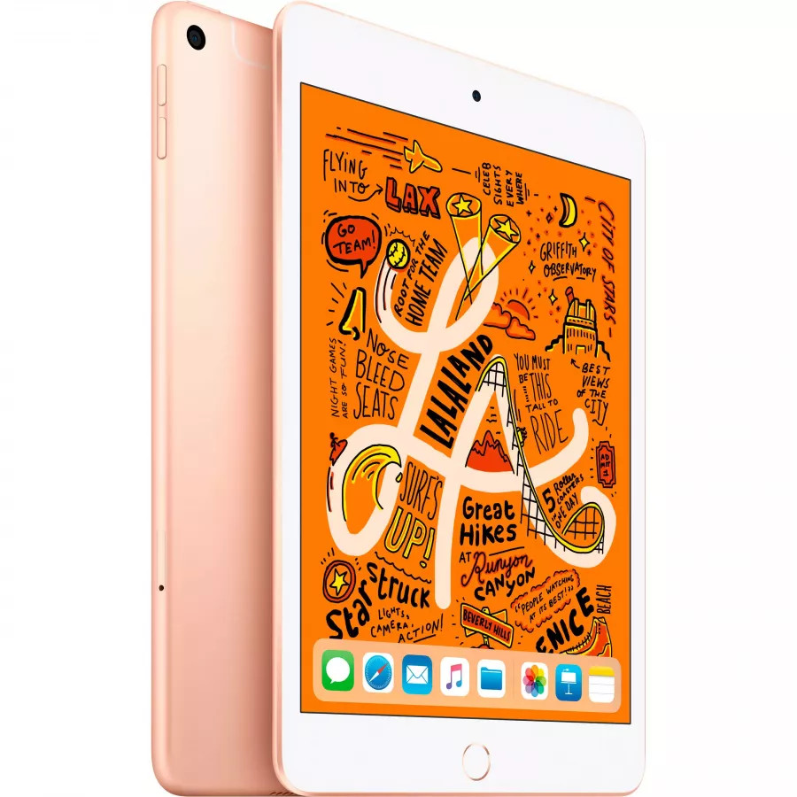 Apple iPad mini 5 256ГБ Wi-Fi + Cellular - Золотой (Gold). Вид 1