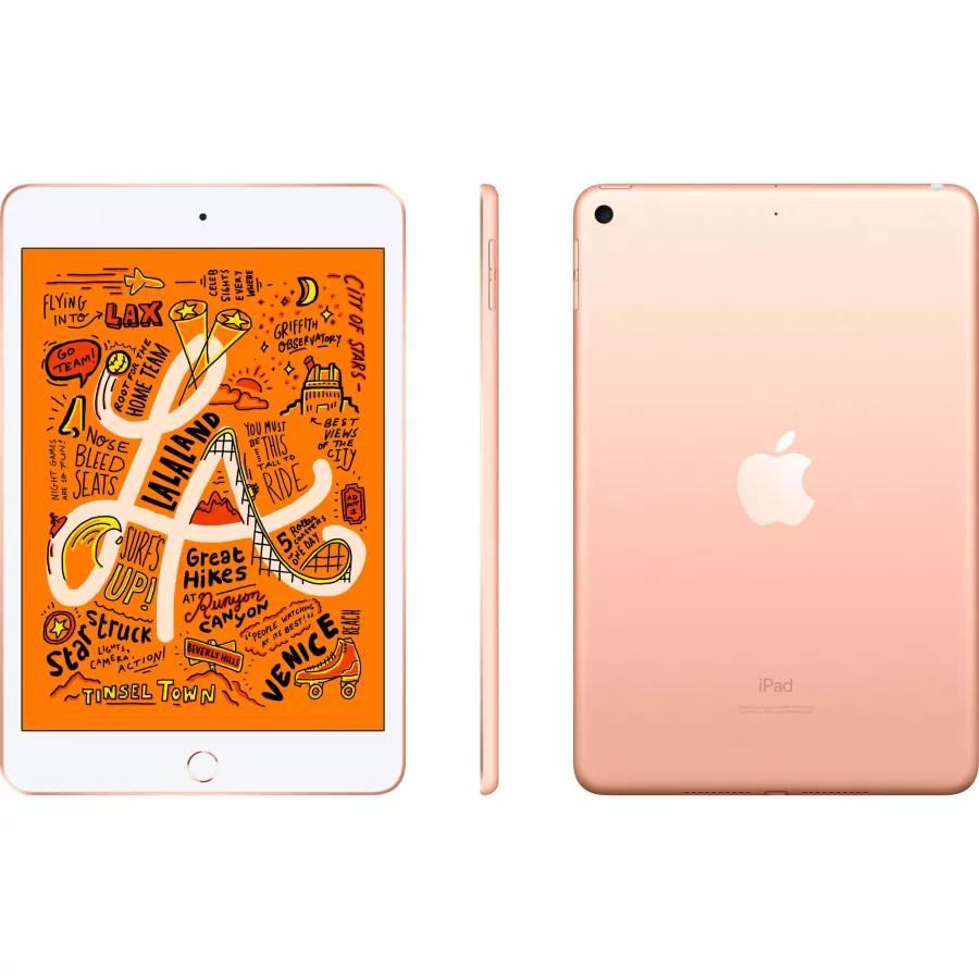 Apple iPad mini 5 64ГБ Wi-Fi - Золотой (Gold). Вид 2