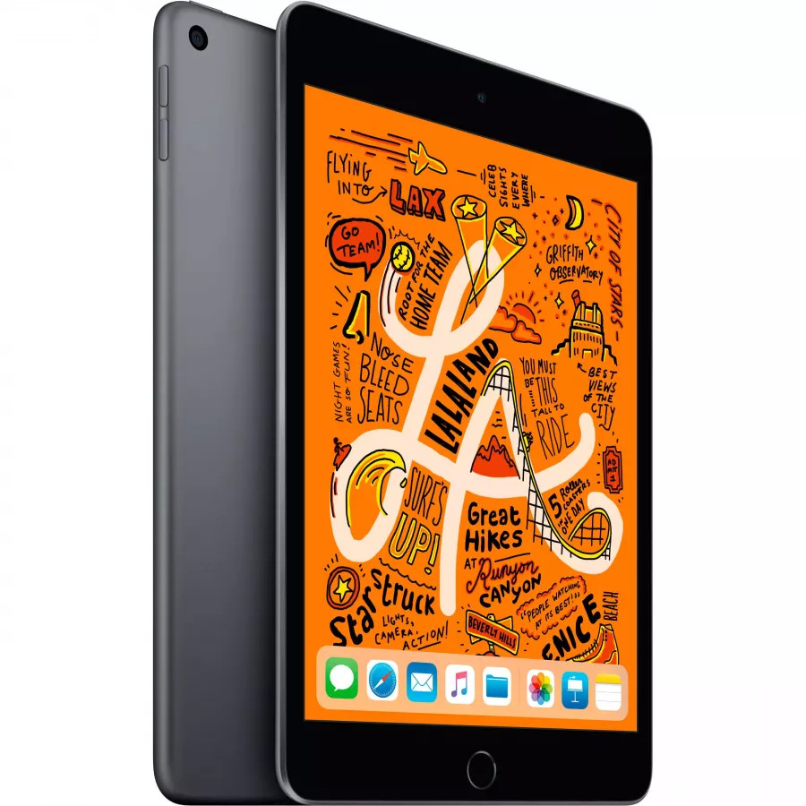 Apple iPad mini 5 64ГБ Wi-Fi - Серый Космос (Space Gray). Вид 1