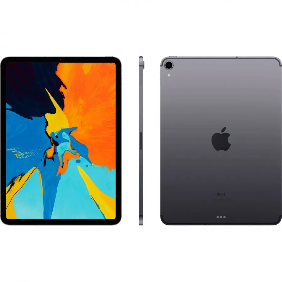 Apple iPad Pro 11 512ГБ Wi-Fi + Cellular - Серый Космос (Space Gray). Вид 2