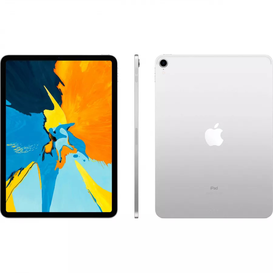 Apple iPad Pro 11 256ГБ Wi-Fi - Серебристый (Silver). Вид 2