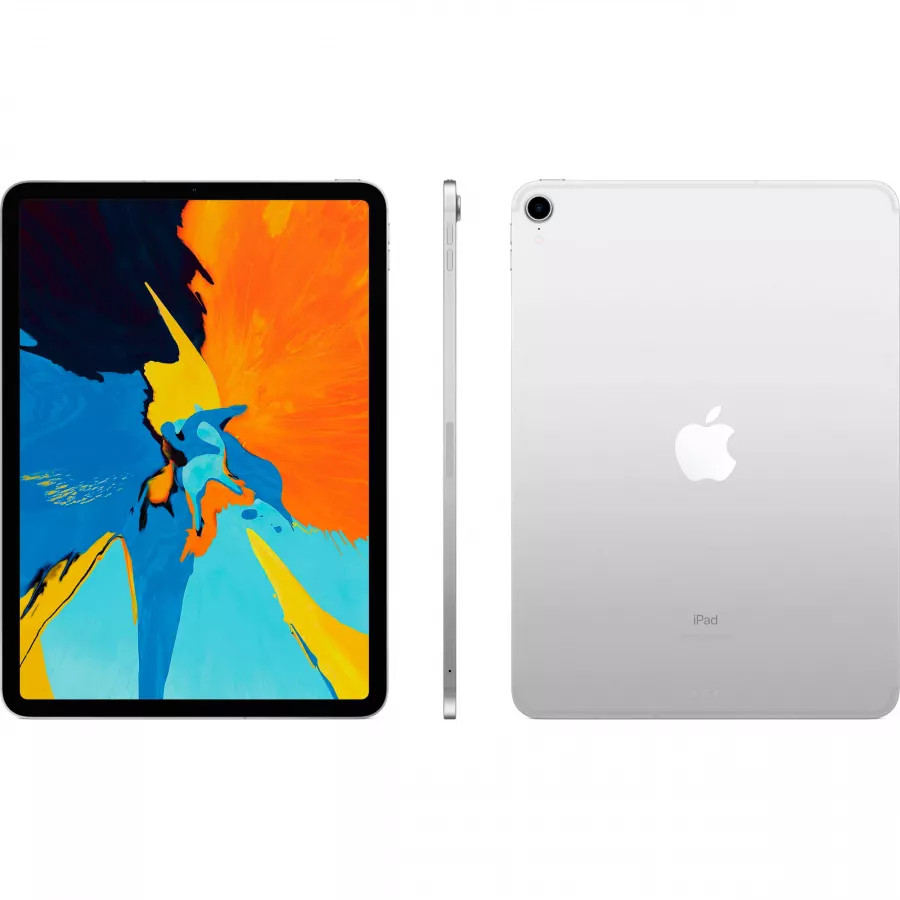 Apple iPad Pro 11 64ГБ Wi-Fi + Cellular - Серебристый (Silver). Вид 2