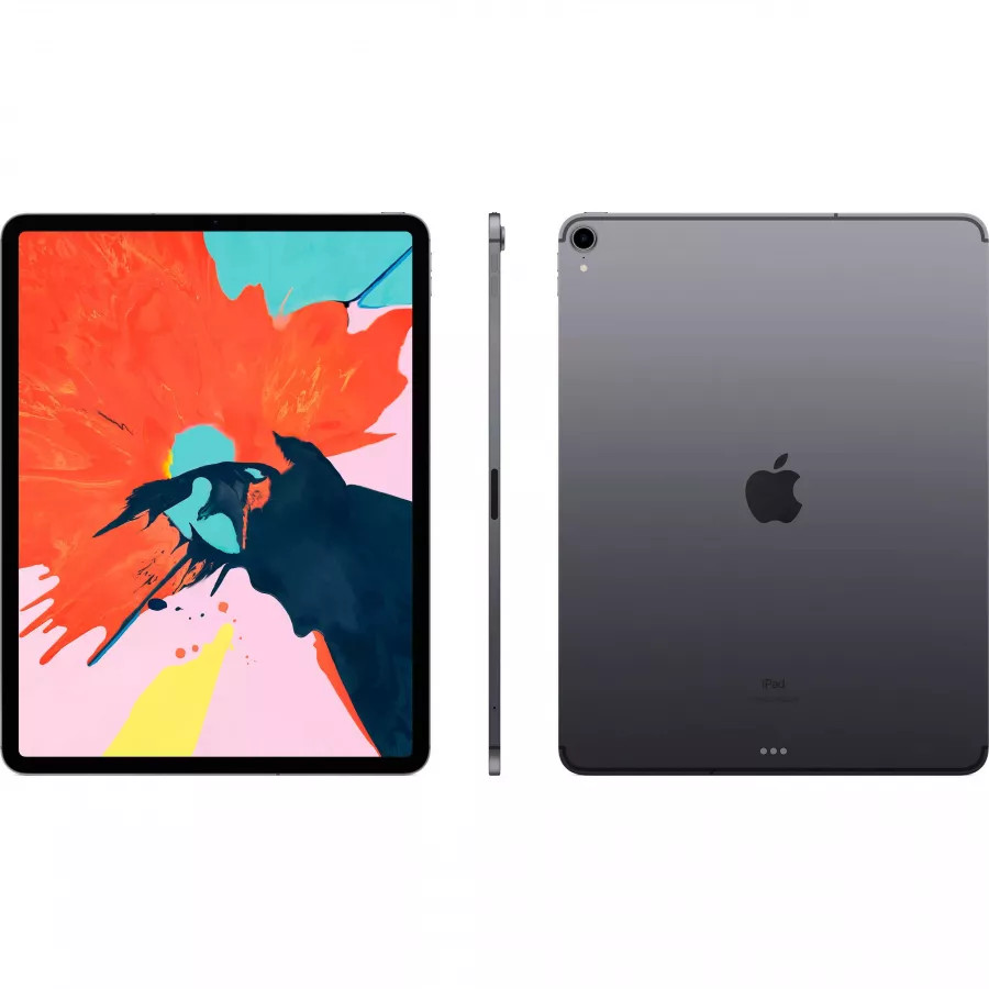 Apple iPad Pro 12.9 512ГБ Wi-Fi + Cellular - Серый Космос (Space Gray). Вид 2