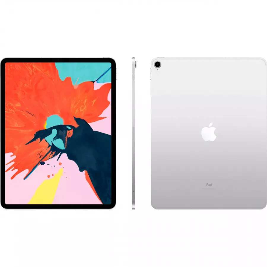 Apple iPad Pro 12.9 512ГБ Wi-Fi + Cellular - Серебристый (Silver). Вид 2