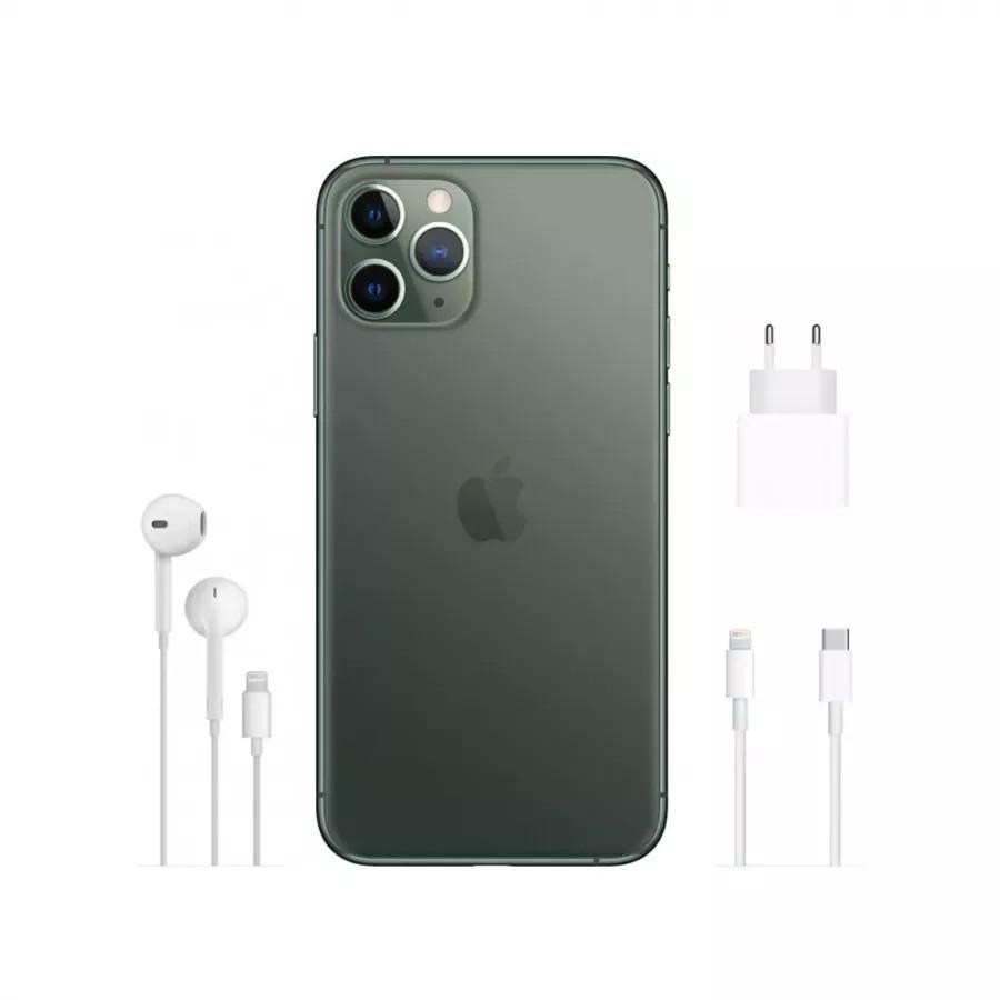 Apple iPhone 11 Pro 256ГБ Темно-зеленый (Midnight Green). Вид 3