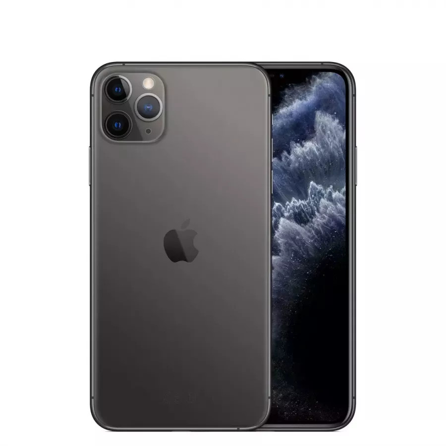 Apple iPhone 11 Pro Max 256ГБ Серый космос (Space Gray). Вид 1