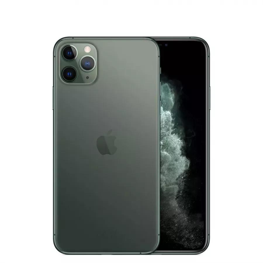 Apple iPhone 11 Pro Max 64ГБ Темно-зеленый (Midnight Green). Вид 1