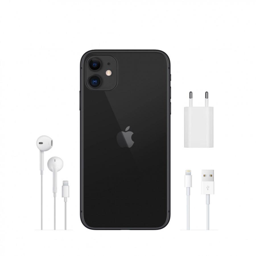 Apple iPhone 11 64ГБ Черный (Black). Вид 4