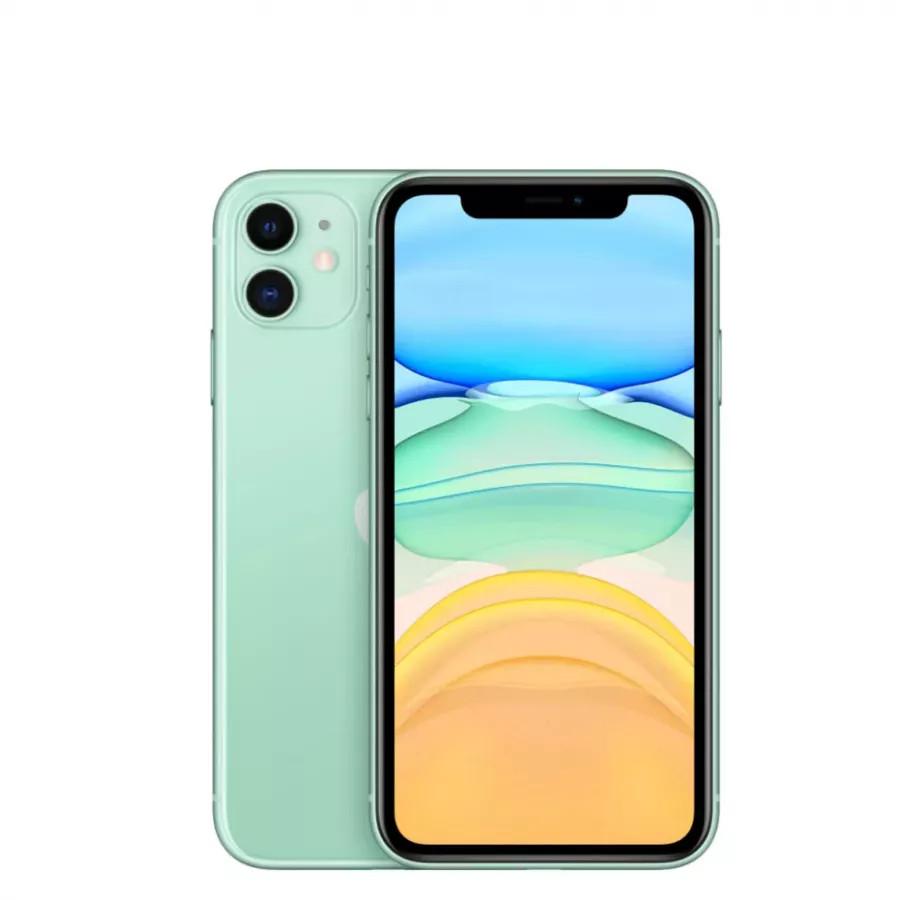 Apple iPhone 11 128ГБ Зеленый (Green). Вид 1