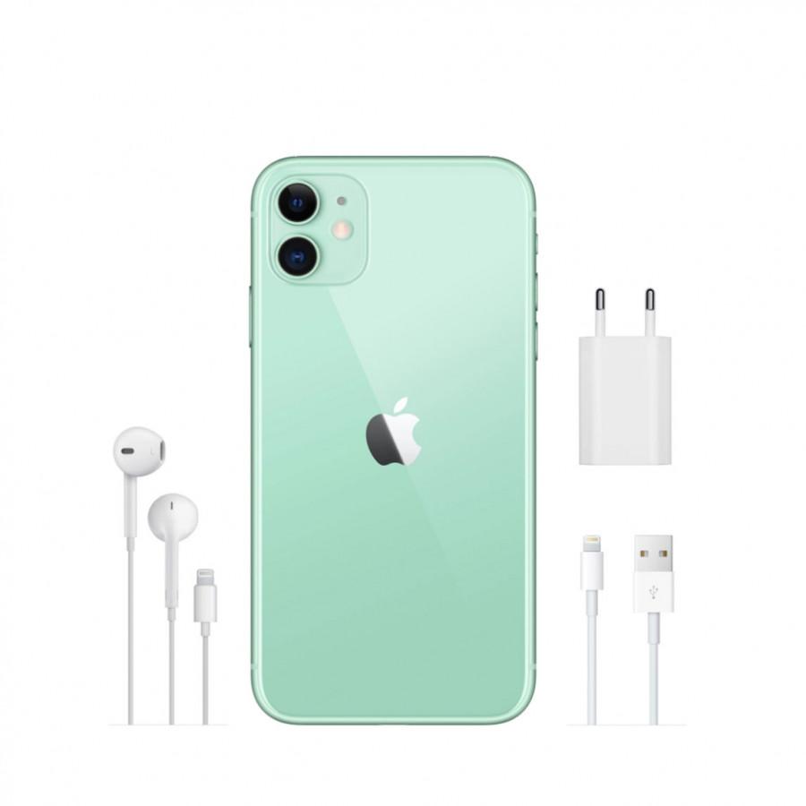 Apple iPhone 11 128ГБ Зеленый (Green). Вид 4