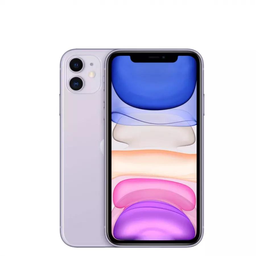 Apple iPhone 11 128ГБ Фиолетовый (Purple). Вид 1