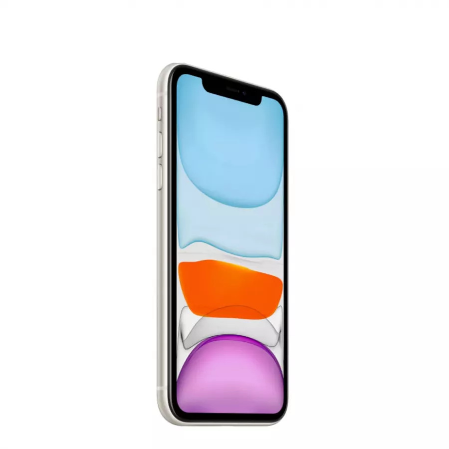 Apple iPhone 11 64ГБ Белый (White). Вид 3