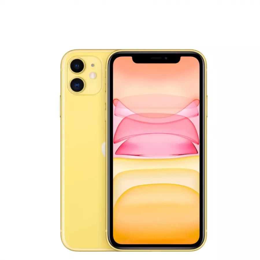 Apple iPhone 11 64ГБ Желтый (Yellow). Вид 1