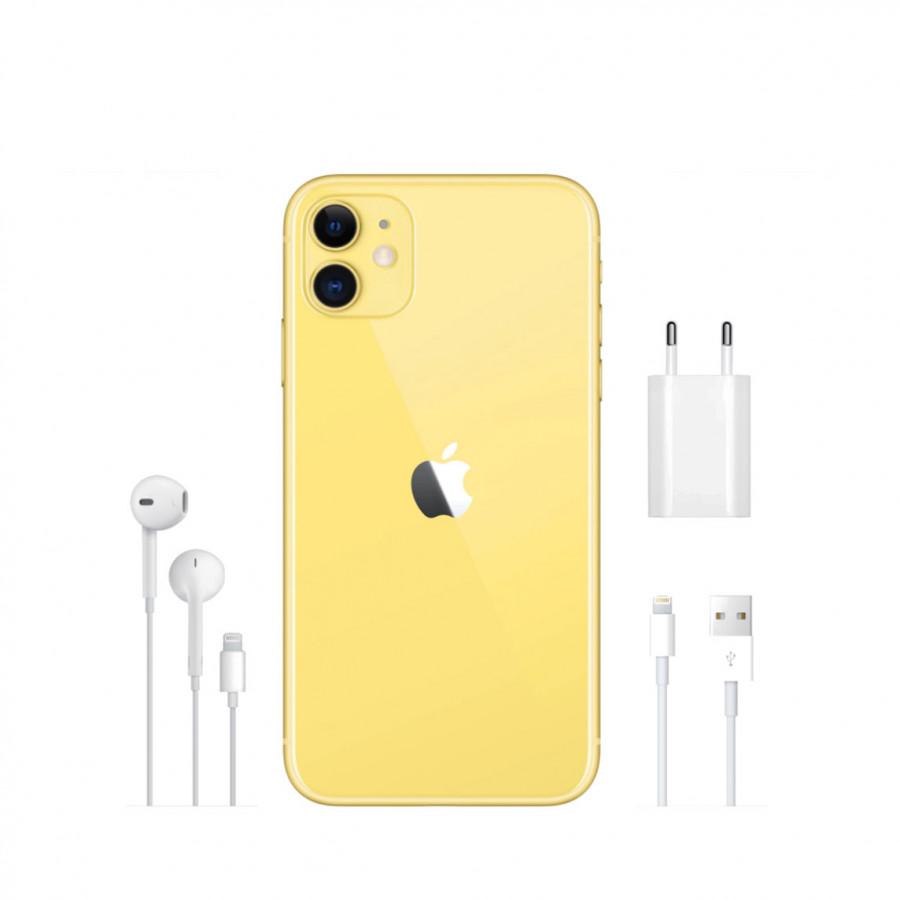 Apple iPhone 11 64ГБ Желтый (Yellow). Вид 4
