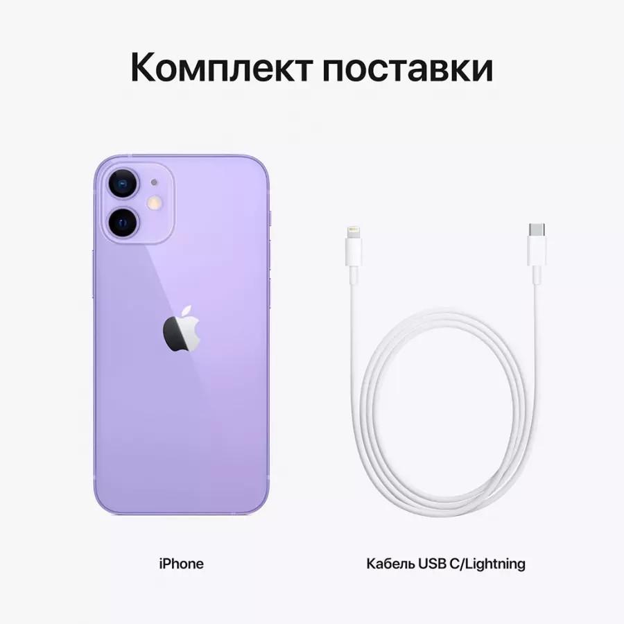 Apple iPhone 12 mini 64ГБ Фиолетовый. Вид 7