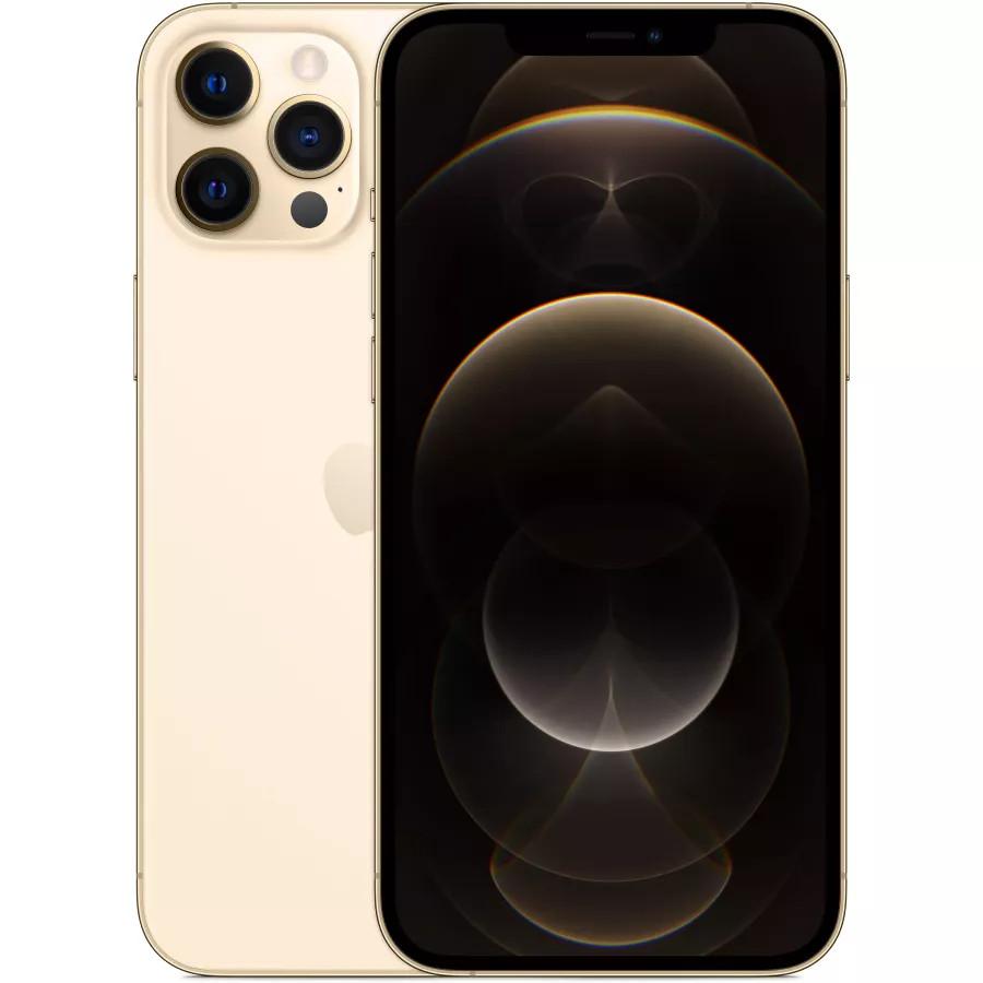 Apple iPhone 12 Pro Max 512ГБ Золотой. Вид 1