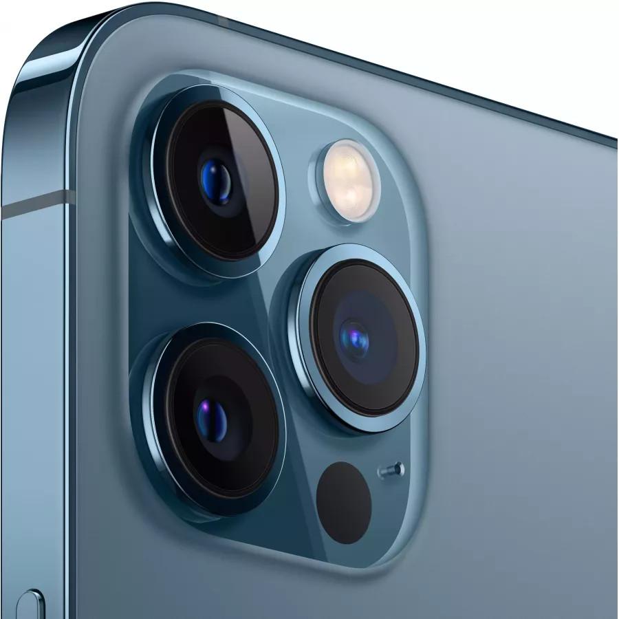 Apple iPhone 12 Pro Max 128ГБ Pacific Blue (Тихоокеанский синий). Вид 3