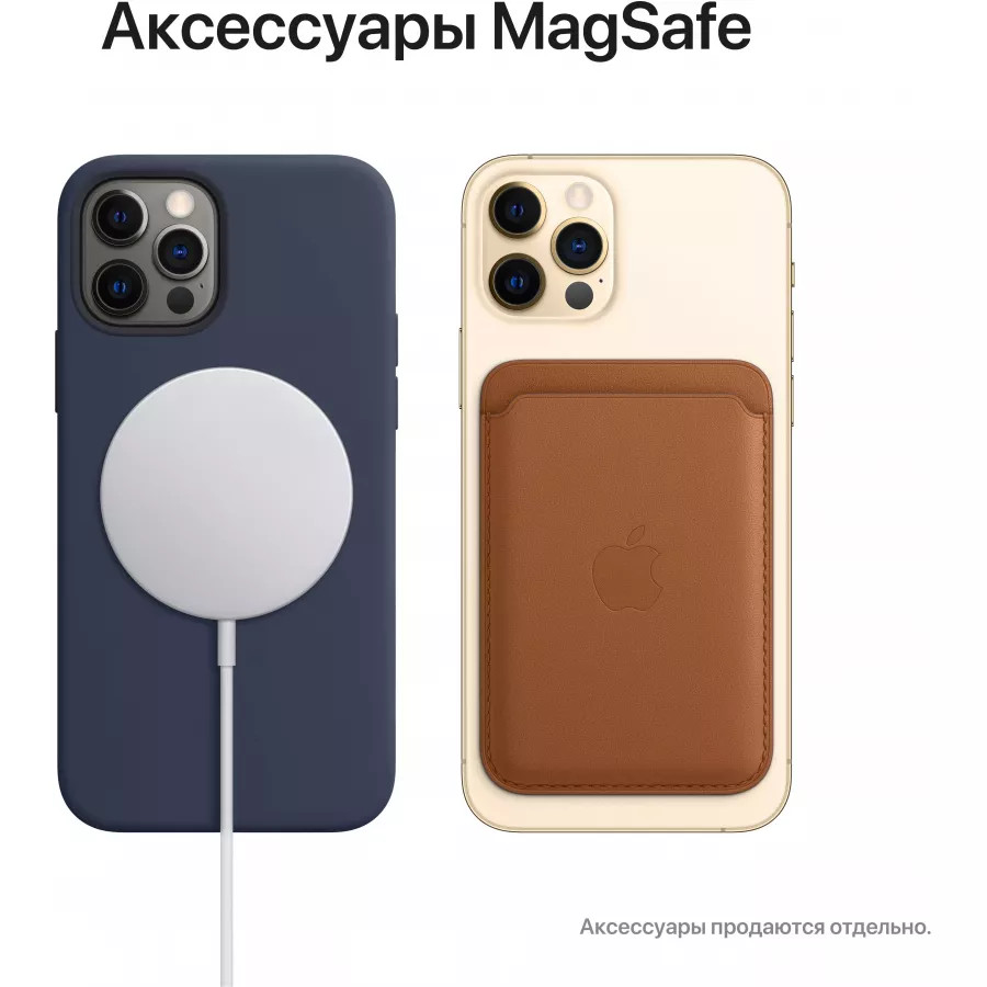 Apple iPhone 12 Pro 256ГБ Pacific Blue (Тихоокеанский синий). Вид 7