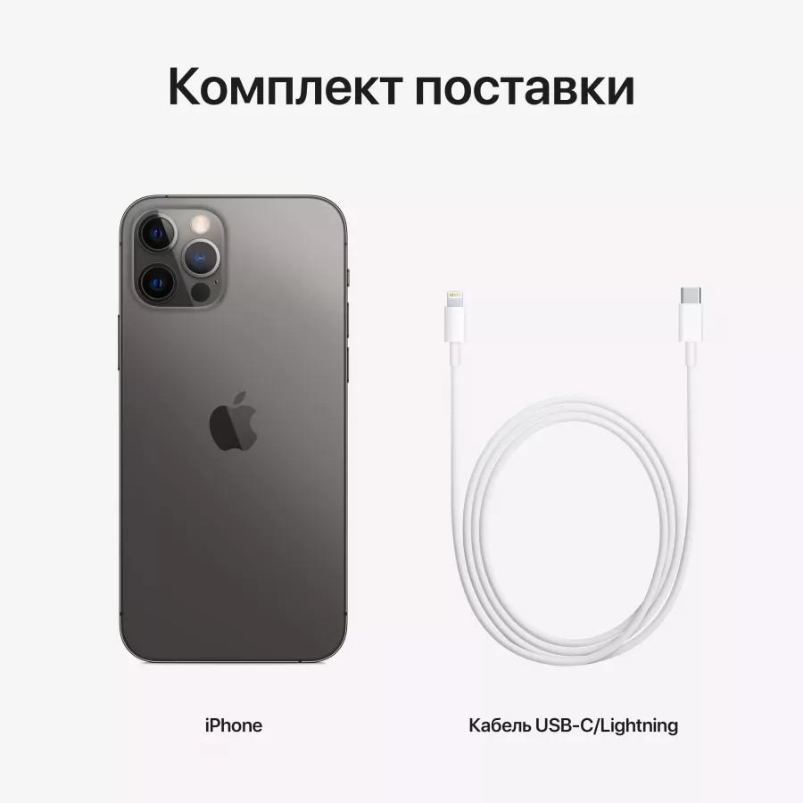 Apple iPhone 12 Pro 128ГБ Graphite (Графитовый). Вид 8