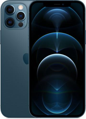 Apple iPhone 12 Pro 256ГБ Pacific Blue (Тихоокеанский синий). Вид 1