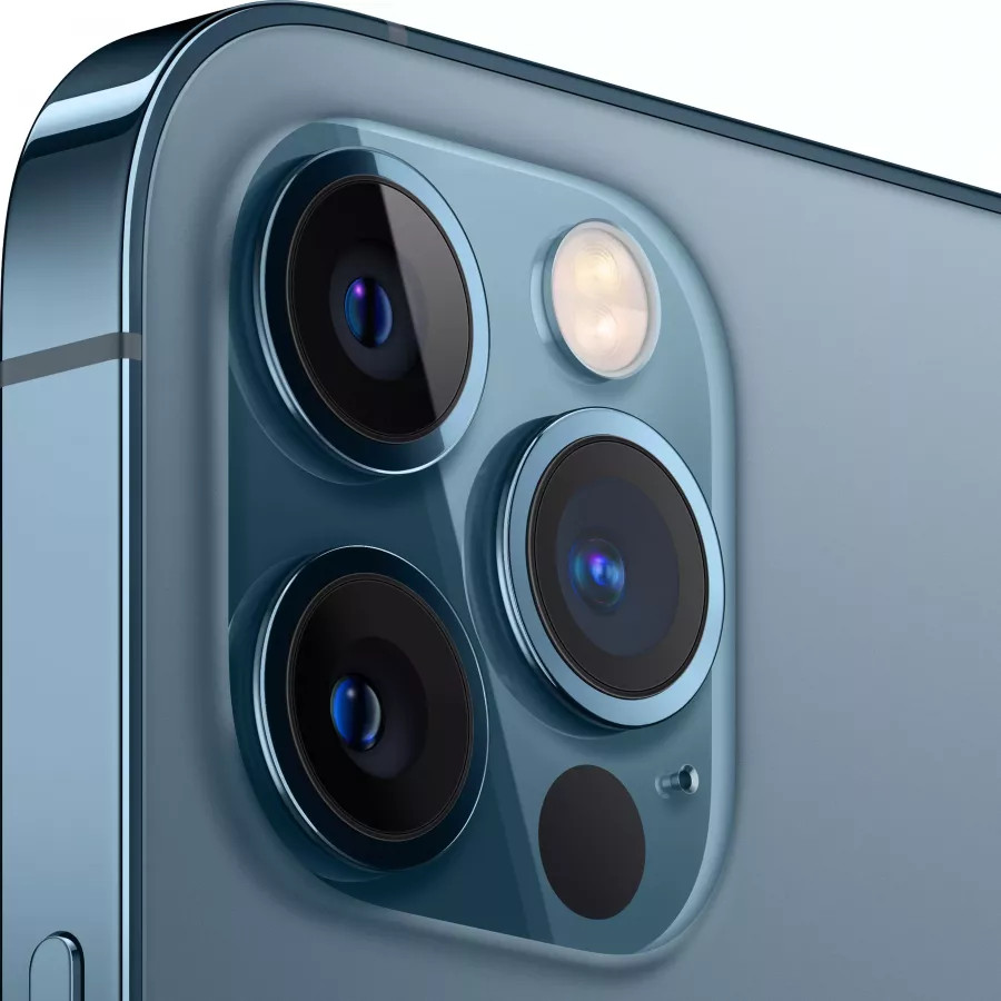 Apple iPhone 12 Pro 256ГБ Pacific Blue (Тихоокеанский синий). Вид 3