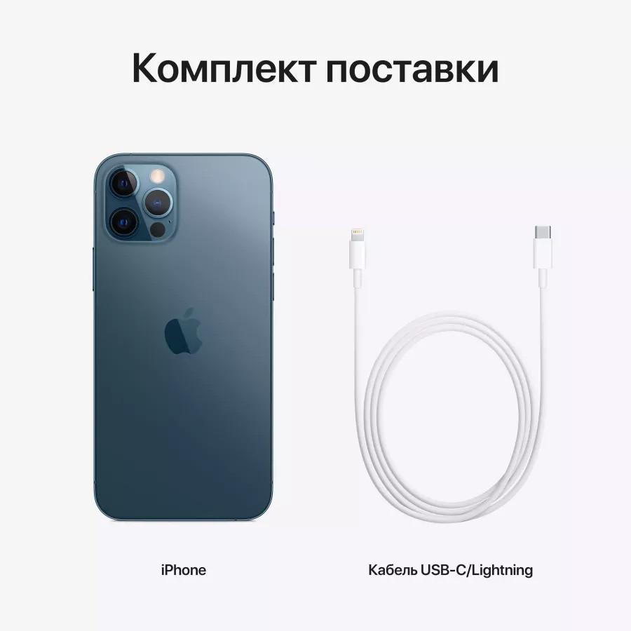 Apple iPhone 12 Pro 256ГБ Pacific Blue (Тихоокеанский синий). Вид 8