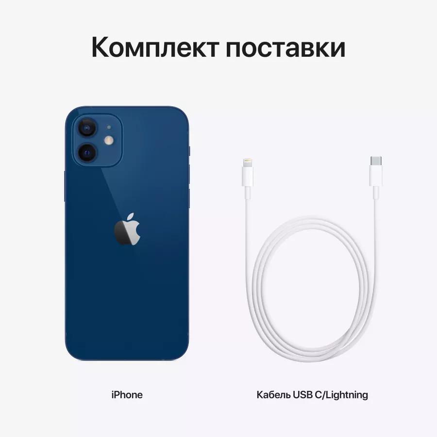 Apple iPhone 12 128ГБ Синий. Вид 7