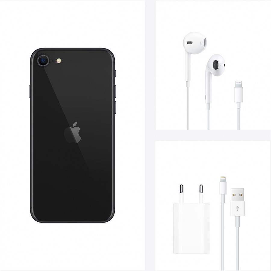 Apple iPhone SE (2020) 256ГБ Черный (Black). Вид 5