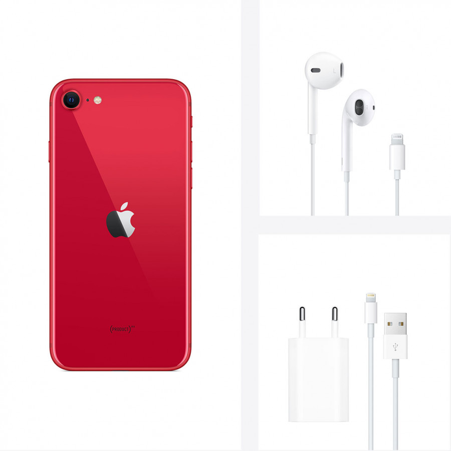 Apple iPhone SE (2020) 256ГБ Красный ((PRODUCT)RED). Вид 5