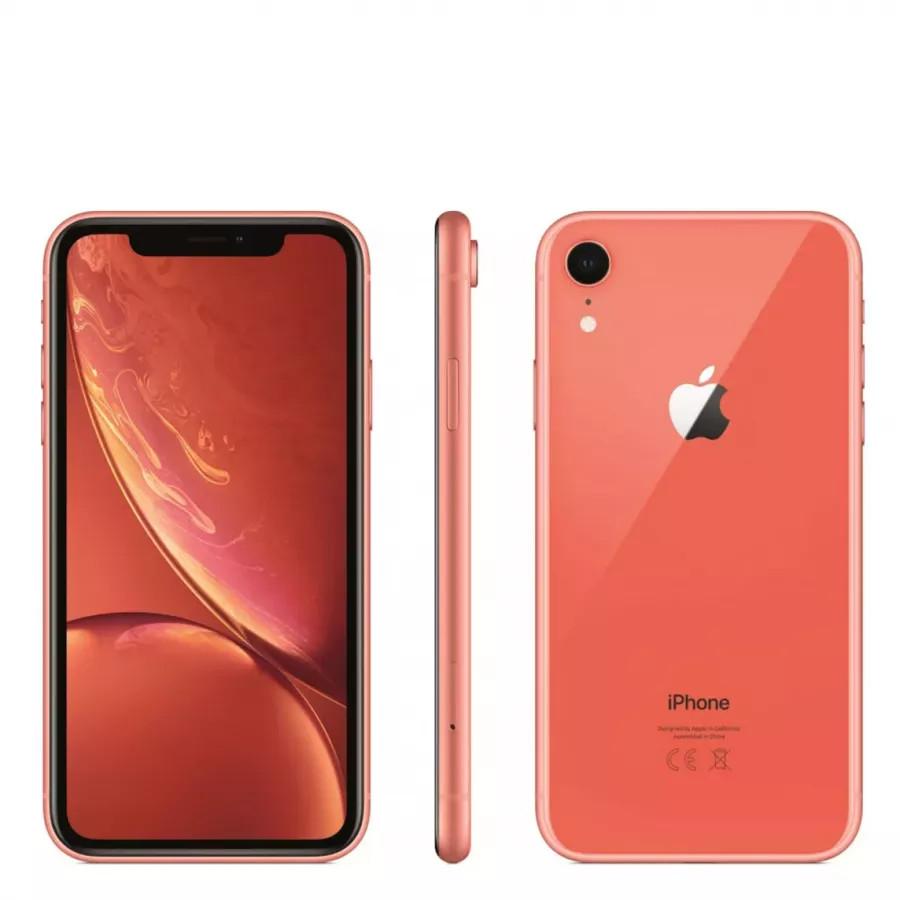 Apple iPhone XR 256ГБ Коралловый (Coral). Вид 4