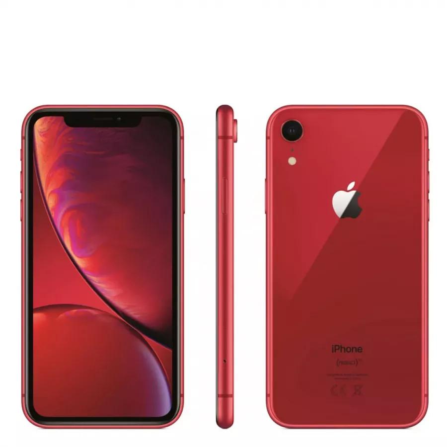 Apple iPhone XR 64ГБ Красный ((PRODUCT)RED). Вид 4