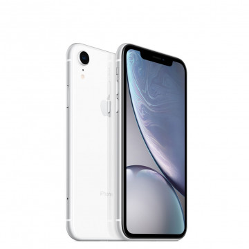Apple iPhone XR 64ГБ Белый (White). Вид 1