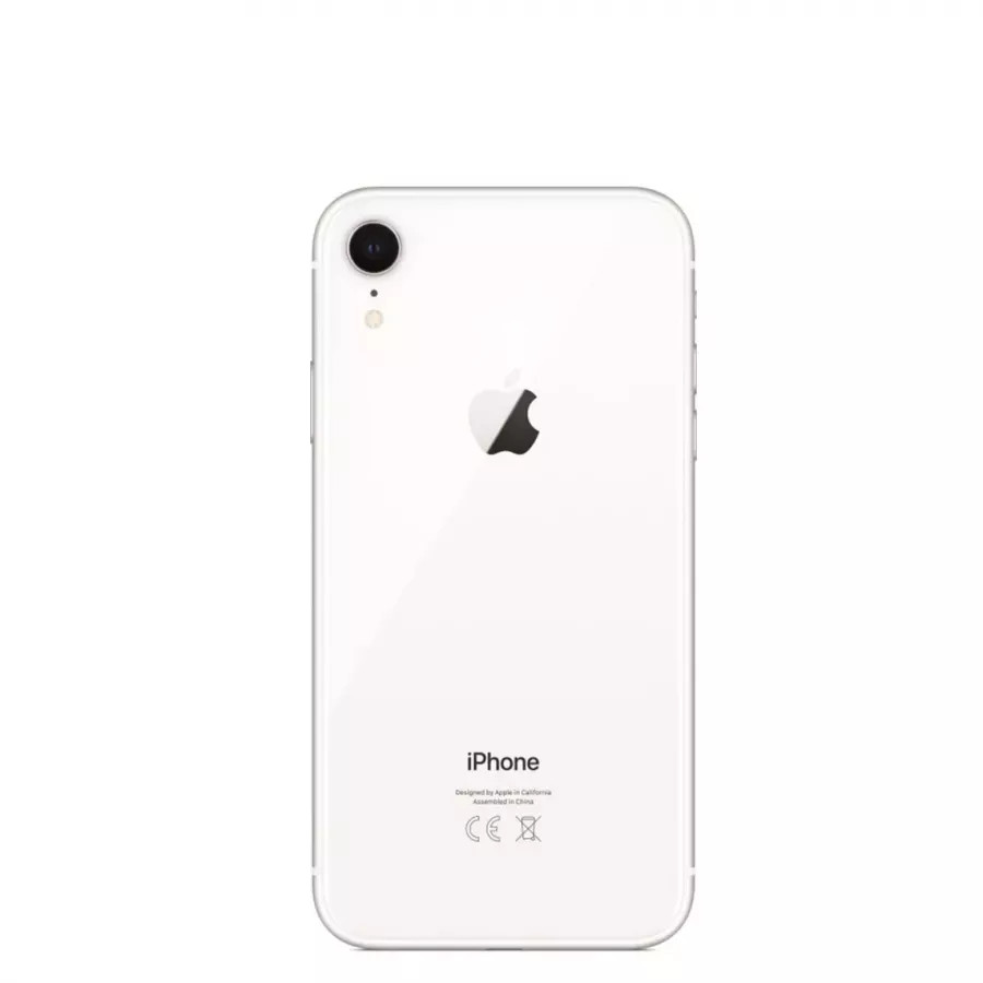 Apple iPhone XR  256ГБ Белый (White). Вид 3