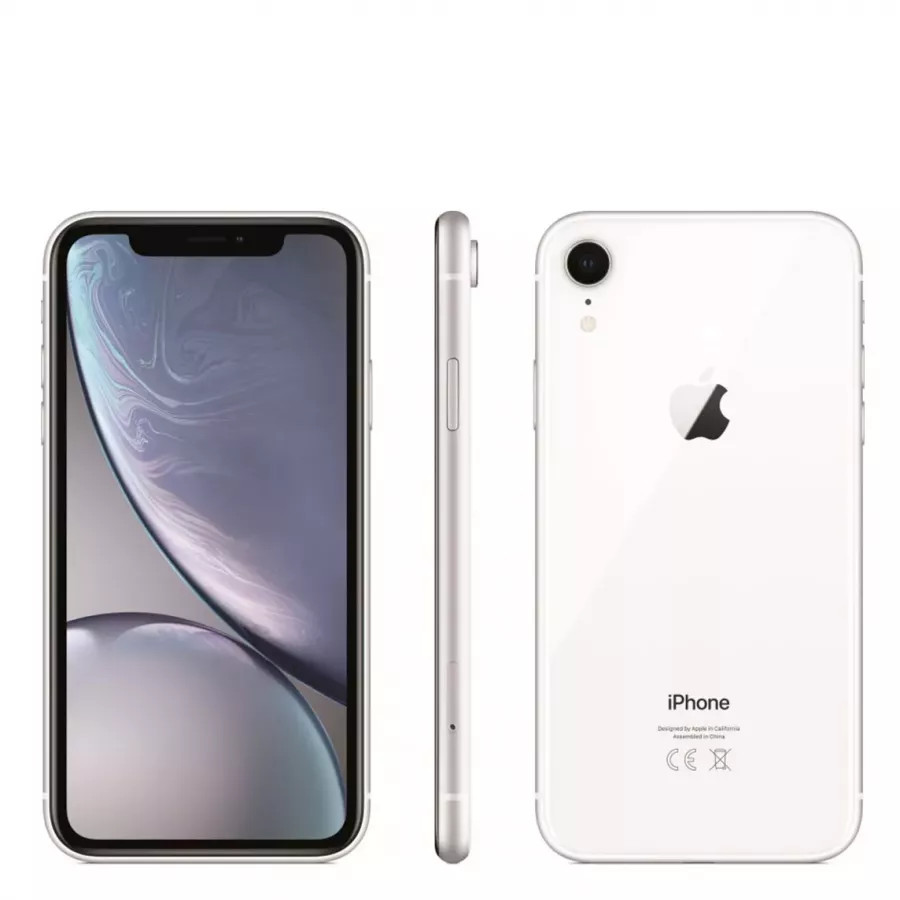 Apple iPhone XR  256ГБ Белый (White). Вид 4