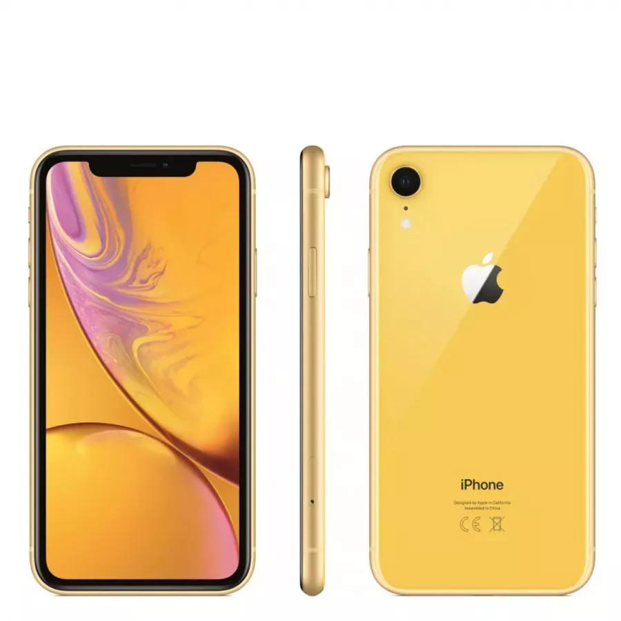 Apple iPhone XR 64ГБ Желтый (Yellow). Вид 4