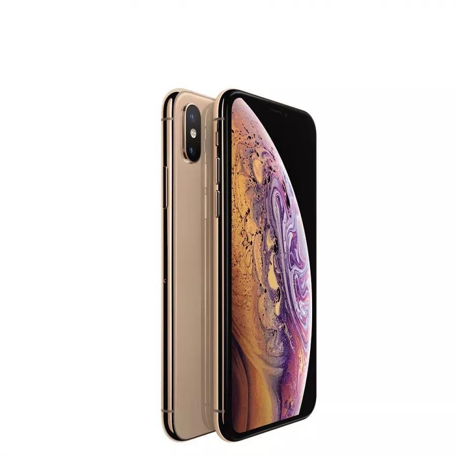 Apple iPhone XS 64ГБ Золотой (Gold). Вид 1