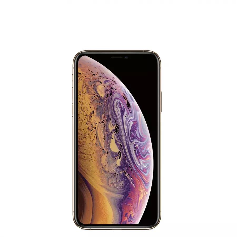 Apple iPhone XS 64ГБ Золотой (Gold). Вид 2