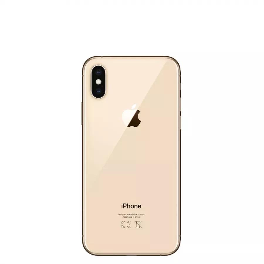 Apple iPhone XS 64ГБ Золотой (Gold). Вид 3
