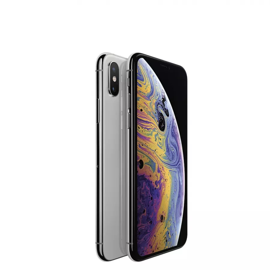 Apple iPhone XS 256ГБ Серебристый (Silver). Вид 1