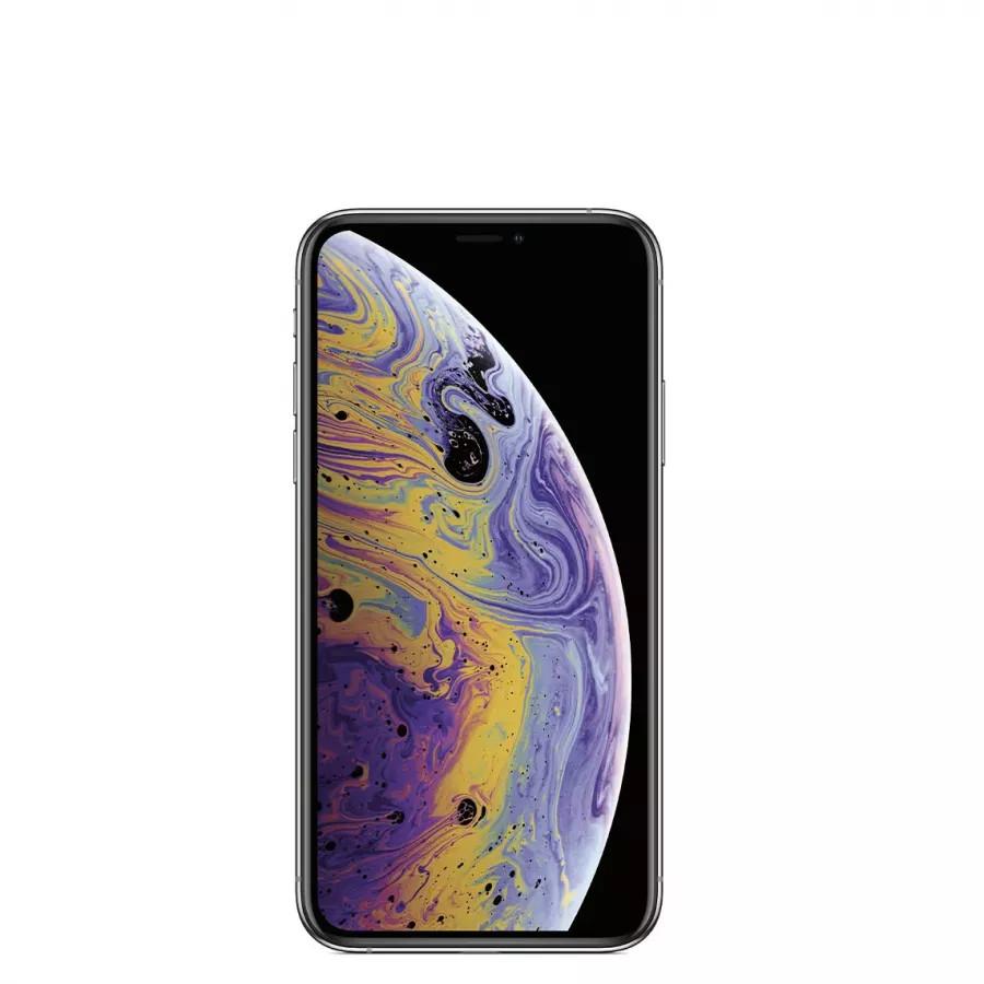 Apple iPhone XS 256ГБ Серебристый (Silver). Вид 2