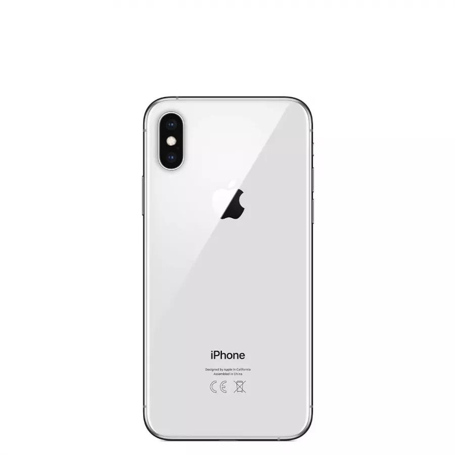 Apple iPhone XS 256ГБ Серебристый (Silver). Вид 3