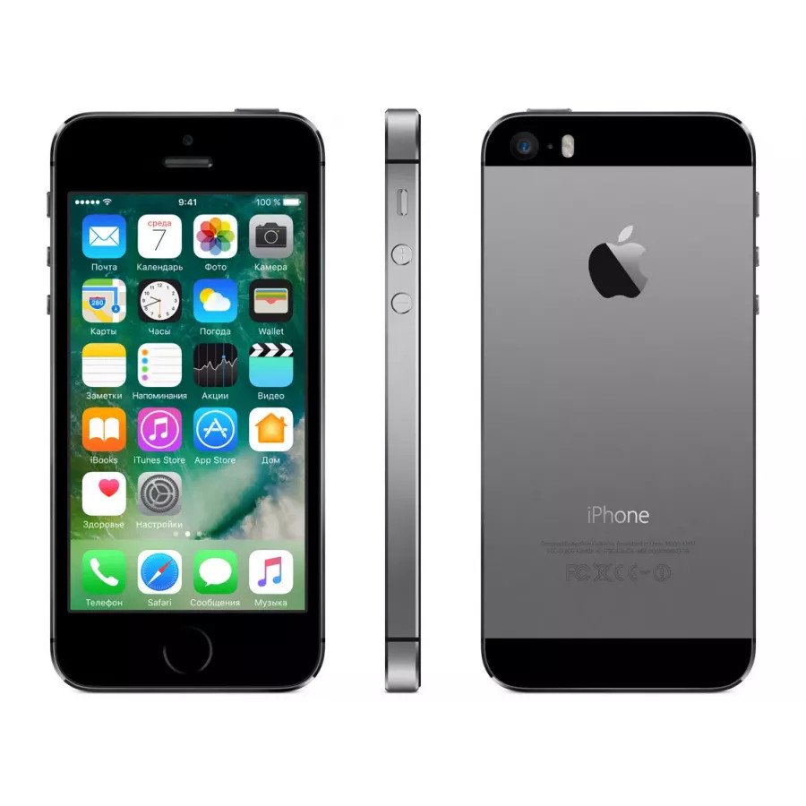 Apple iPhone 5s (6 mini) 16ГБ (Space Gray) Как новый. Вид 2