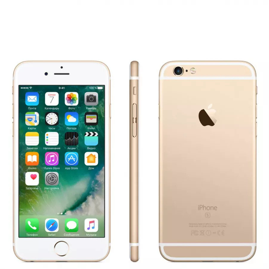 Apple iPhone 6s 32ГБ Gold. Вид 2