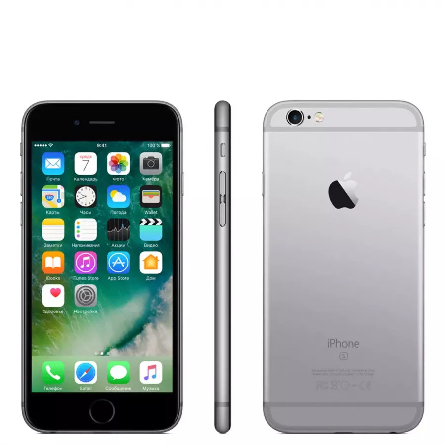 Apple iPhone 6s 32ГБ Space Gray. Вид 2