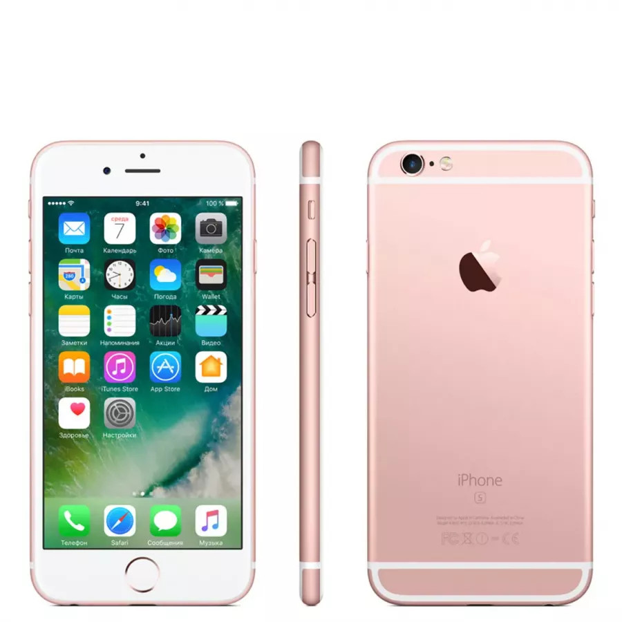 Apple iPhone 6s 32ГБ Rose Gold. Вид 2